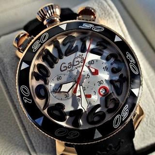 ガガミラノ(GaGa MILANO)の[新品正規品] ガガミラノ クロノグラフ 6056.6 時計 ユニセックス(腕時計(アナログ))