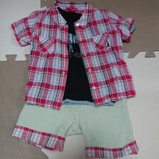 コムサイズム(COMME CA ISM)の80 コムサイズム セットアップ Tシャツセット(Tシャツ)