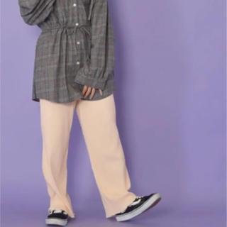 ダブルクローゼット(w closet)の裾メローパンツ(カジュアルパンツ)