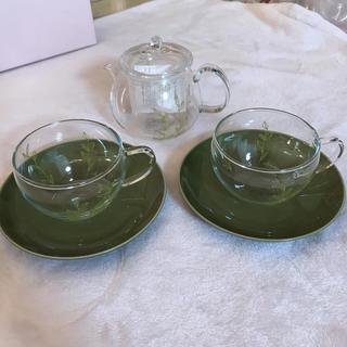 アフタヌーンティー(AfternoonTea)のアフタヌーンティー ガラス ポット カップ&ソーサー(食器)