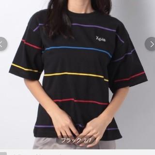 エックスガール(X-girl)のまめうさ様専用☆X-girl   RAINBOW STRIPE S/S T(Tシャツ(半袖/袖なし))