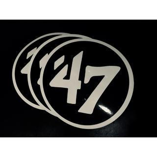 ロンハーマン(Ron Herman)のフォーティセブン 47Brand ステッカー3枚(ステッカー)