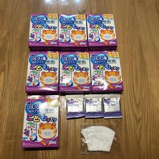 コバヤシセイヤク(小林製薬)ののどぬーる ぬれマスク 子供用 ぶどうの香り付き 7箱(その他)
