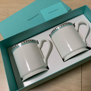 ティファニー(Tiffany & Co.)のTiffany ペアマグカップ (グラス/カップ)