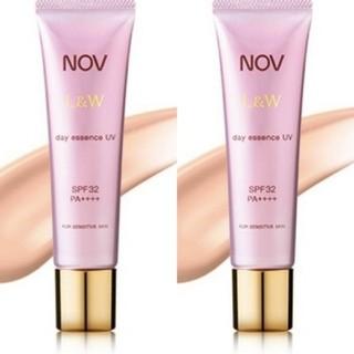 ノブ(NOV)のNOV ノブ I&W day エッセンス UV 2本セット(化粧下地)