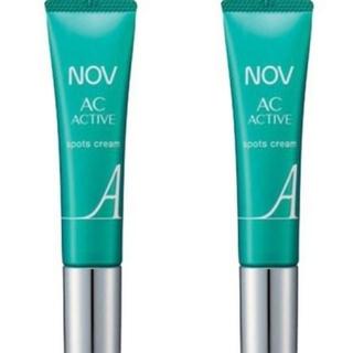 ノブ(NOV)のNOVノブ ACアクティブ スポッツクリーム 10g  2本セット(美容液)