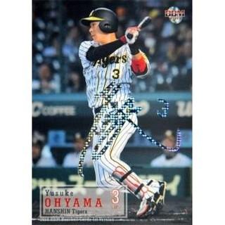 ハンシンタイガース(阪神タイガース)のBBM 2019 1st 大山悠輔(阪神タイガース) ホロ箔 サイン(シングルカード)
