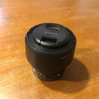 ソニー(SONY)のソニー 単焦点レンズ FE 50mm F1.8 SEL50F18F(レンズ(単焦点))