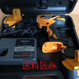 ナショナル National 充電ドリル 電動ドライバー EZT113 (その他)