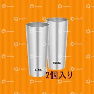 サーモス(THERMOS)のタンブラー2個セット(グラス/カップ)