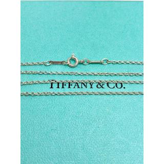 ティファニー(Tiffany & Co.)の美品 ティファニー チェーンのみ 40センチ 太め(ネックレス)