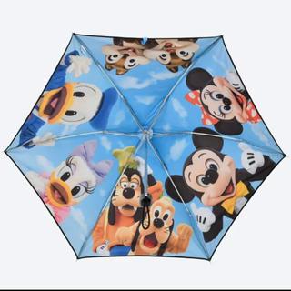 ディズニー(Disney)のディズニー 実写 傘 日傘 雨天兼用 TDR 限定 新品 完売 レア(傘)