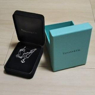 ティファニー(Tiffany & Co.)のティファニー ネックレス アンカー 碇(ネックレス)