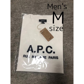 アーペーセー(A.P.C)の【未使用】A.P.C.半袖Tシャツ メンズM(日本人メンズL)apcアーペーセー(Tシャツ/カットソー(半袖/袖なし))