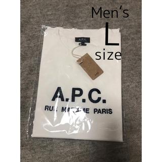 アーペーセー(A.P.C)の【未使用】A.P.C.半袖TシャツメンズL(日本人メンズXL)apcアーペーセー(Tシャツ/カットソー(半袖/袖なし))