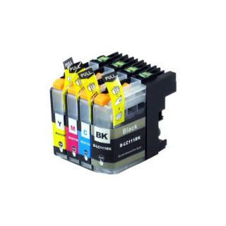 brother互換インクカートリッジ LC111 4色セット 残量表示機能(オフィス用品一般)