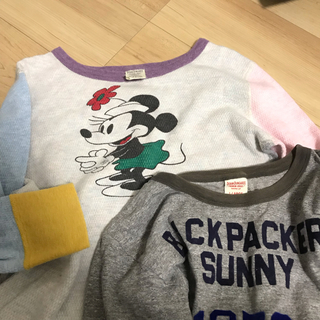 デニムダンガリー(DENIM DUNGAREE)のデニムアンドダンガリー サーマルロンt 半袖tシャツ セット 160 02(Tシャツ/カットソー)