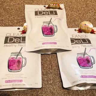 未開封品 CLENSEDELI クレンジングジュース 3袋(ダイエット食品)