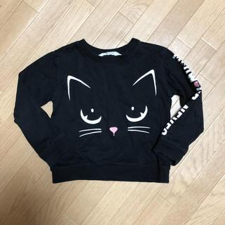 エイチアンドエム(H&M)のH&M 100-110cm ネコちゃん ロンT(Tシャツ/カットソー)