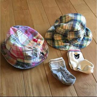 ミキハウス 帽子セット くつ下付き(靴下/タイツ)
