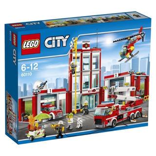 レゴ(Lego)の【新品】レゴ シティ 60110  消防署 2個セット(知育玩具)