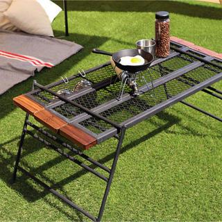ドッペルギャンガー(DOPPELGANGER)のDOD テキーラテーブル ウォルナット仕様 焚き火 10周年1000個限定生産(テーブル/チェア)