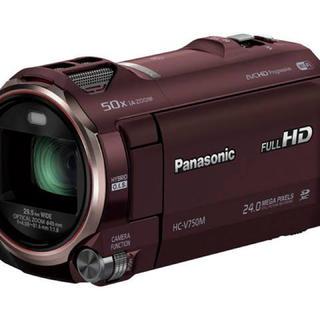 パナソニック(Panasonic)の早い者勝ち 美品 Panasonic ビデオカメラ 三脚付き 予備バッテリー(ビデオカメラ)
