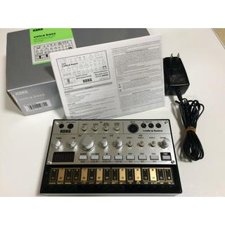 コルグ(KORG)のkorg volca bass ACアダプターつき(キーボード/シンセサイザー)