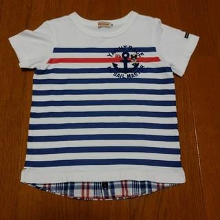 ミキハウス(mikihouse)のミキハウス ボーダーTシャツ 110(Tシャツ/カットソー)