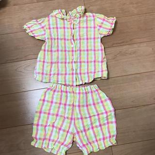 ニシマツヤ(西松屋)の半袖 パジャマ 100(パジャマ)
