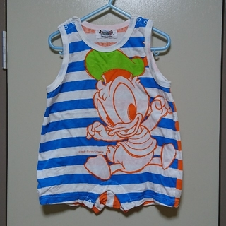 ディズニー(Disney)のディズニー ドナルドJr. ロンパース95(その他)
