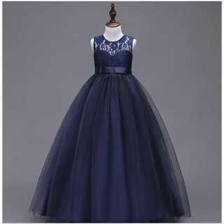 キッズドレス◆王女風◆ロイヤルブルー◆結婚式 発表会(ドレス/フォーマル)