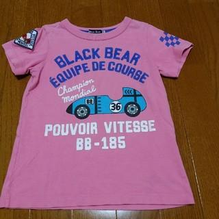 ミキハウス(mikihouse)のミキハウス ブラックベア 半袖110(Tシャツ/カットソー)