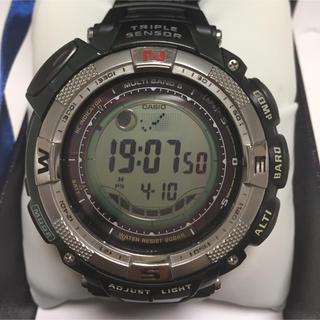 CASIO - PROTREK  PRW-1500J トリプルセンサー ソーラー電波 腕時計/