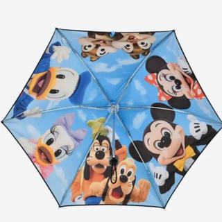 ディズニー(Disney)のディズニー ☆ 実写☆ 折りたたみ晴雨兼用傘 (傘)
