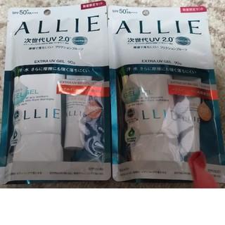 アリィー(ALLIE)のALLIE エクストラUV ジェル&エクストラUV BBジェルミニ限定セット(日焼け止め/サンオイル)