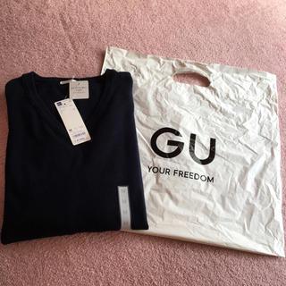 ジーユー(GU)のGU Vネックセーター 新品・未使用(ニット/セーター)