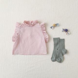 キャラメルベビー&チャイルド(Caramel baby&child )の新品タグ付き  今期完売  soor ploomブラウス(ブラウス)