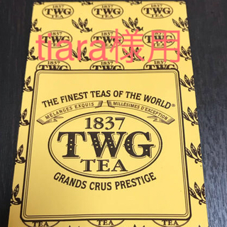 アフタヌーンティー(AfternoonTea)の【高級紅茶】TWG パッションフルーツティー(茶)