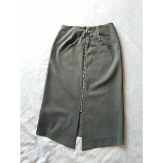 ラウンジドレス(Loungedress)のLoungedress カーキ 2wayタイトスカート(ひざ丈スカート)