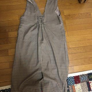 ジーユー(GU)のGU オーバーオールスカート(サロペット/オーバーオール)
