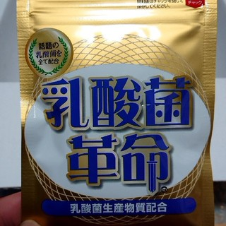 【新品】乳酸菌革命(ダイエット食品)