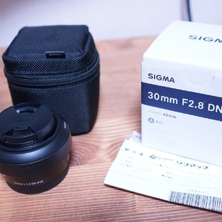 シグマ(SIGMA)のSIGMA/30mm F2.8 DN(レンズ(単焦点))