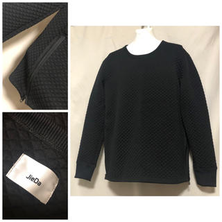 ジエダ(Jieda)のJIEDA ジエダ  キルティング ビッグシルエット 裾ジップ カットソー(Tシャツ/カットソー(七分/長袖))