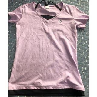 ディズニー(Disney)のディズニーデザイン☆スポーツTシャツ☆Mサイズ(ウェア)