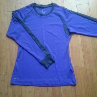 ナイキ(NIKE)のNIKE ドライフィット長袖Tシャツ M(Tシャツ(長袖/七分))