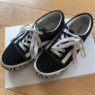 ラブトキシック(lovetoxic)のLovetoxic☆靴Sサイズ(スニーカー)