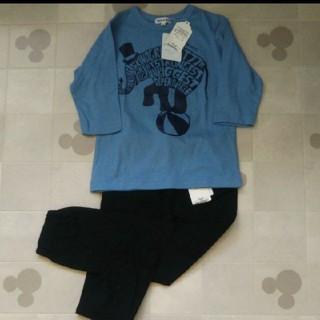 シューラルー(SHOO・LA・RUE)の新品 タグつき シューラルー 上下セット(Tシャツ/カットソー)