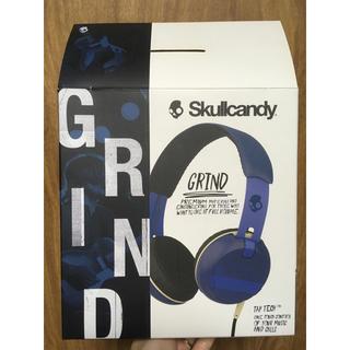 スカルキャンディ(Skullcandy)の新品未使用!Skullcandy Grind オンイヤー型ヘッドホン(ヘッドフォン/イヤフォン)