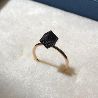 アガット(agete)のageteアガット ブラックダイヤモンドリング 9号(リング(指輪))